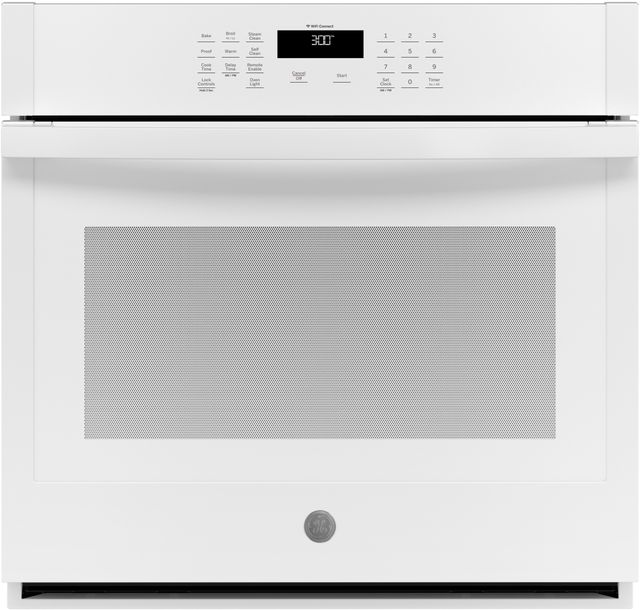 """GE® 30"""" White Electric Single Oven Built In-JTS3000DNWW"""