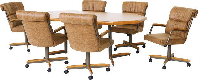 Chromcraft™ Dining Table-CD854M+DB37MTZ