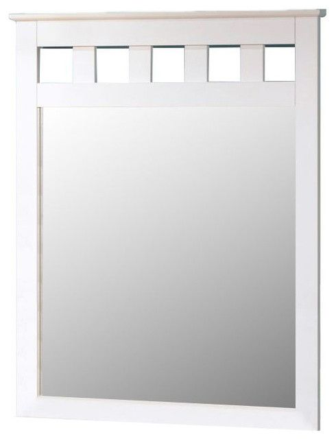 Signature Design by Ashley® Lulu White Paint Youth Bedroom Mirror-B102-26