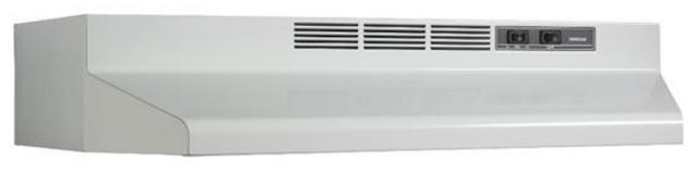 Hotte de cuisinière sous-armoire Broan® de 30 po - Blanc-BU230WH