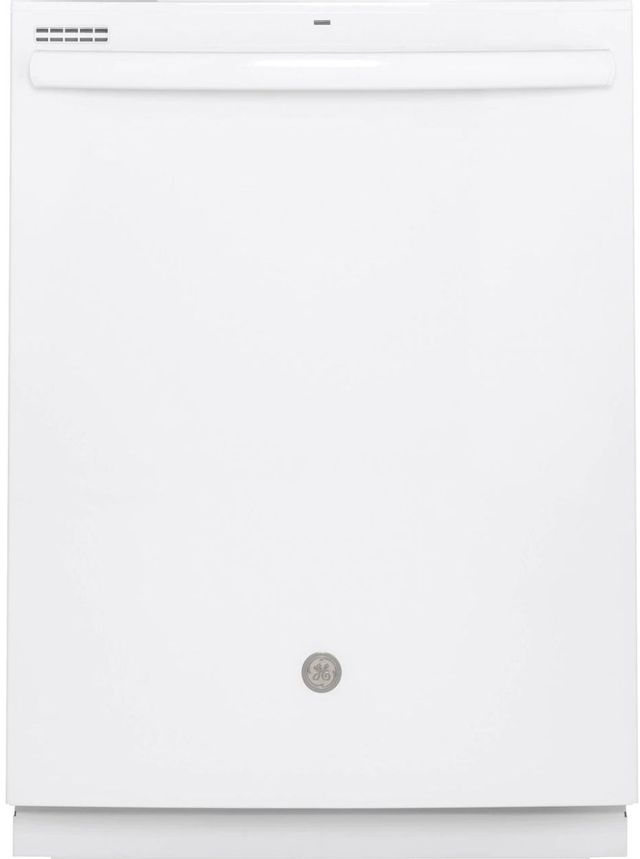 """GE® 24"""" White Built In Dishwasher-GDT630PGMWW"""