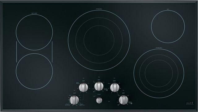 Table de cuisson électrique Cafe™ de 36 po - Acier inoxydable-CEP70362MS1