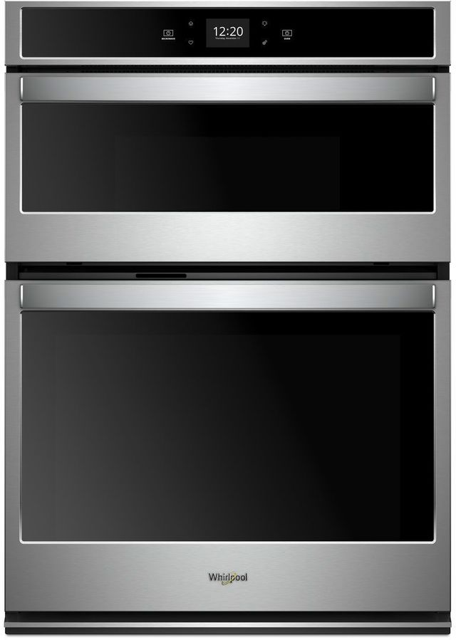 """Whirlpool® 30"""" Stainless Steel Smart Combination Wall Oven-WOC54EC0HS"""