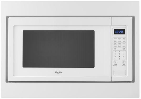 "KitchenAid 27"" White Microwave Trim Kit-MK2227AW"
