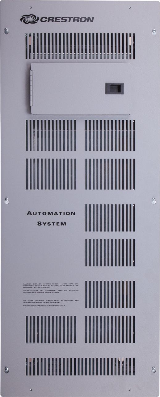 Crestron® 3 Modules High x 1 Module Wide Automation Enclosure-Split Phase-CAEN-3X1-MLO-120/2P