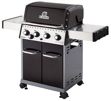 """Broil King® Baron 440 24"""" Black Free Standing Grill-922167"""