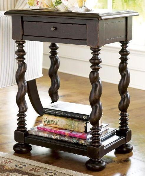 Paula Deen by Universal Furniture Tobacco Sweet Tea Side Table-932827