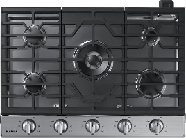 """Samsung 30"""" Gas Cooktop-Stainless Steel-NA30N6555TS"""