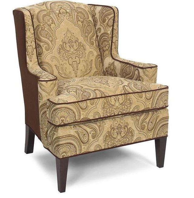 Craftmaster Living Room Wing Chair-095610