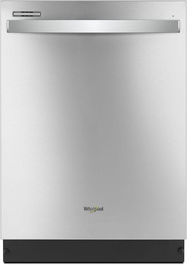 """Whirlpool® 24"""" Built in Dishwasher-Fingerprint Resistant Stainless Steel-WDT710PAHZ"""