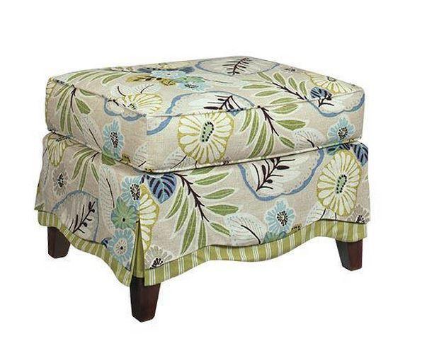 Craftmaster Living Room Ottoman-099600