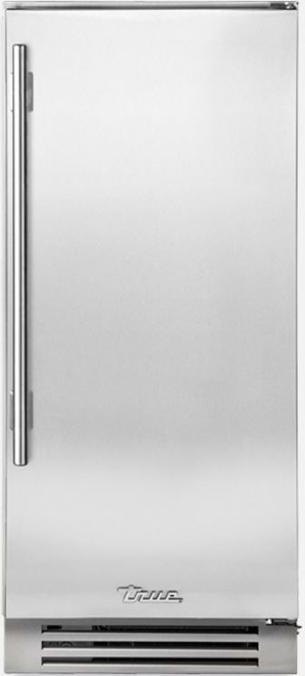 """True® 15"""" Clear Ice Machine-Stainless Steel-TUI-15-R-SS-B"""