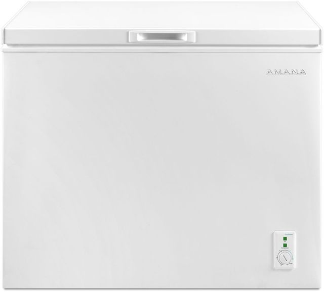 Amana® 7.0 Cu. Ft. White Compact Freezer-AQC0701GRW