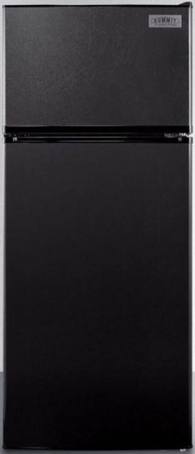 Summit® 10.3 Cu. Ft. Top Freezer Refrigerator-Black-FF1119BIM