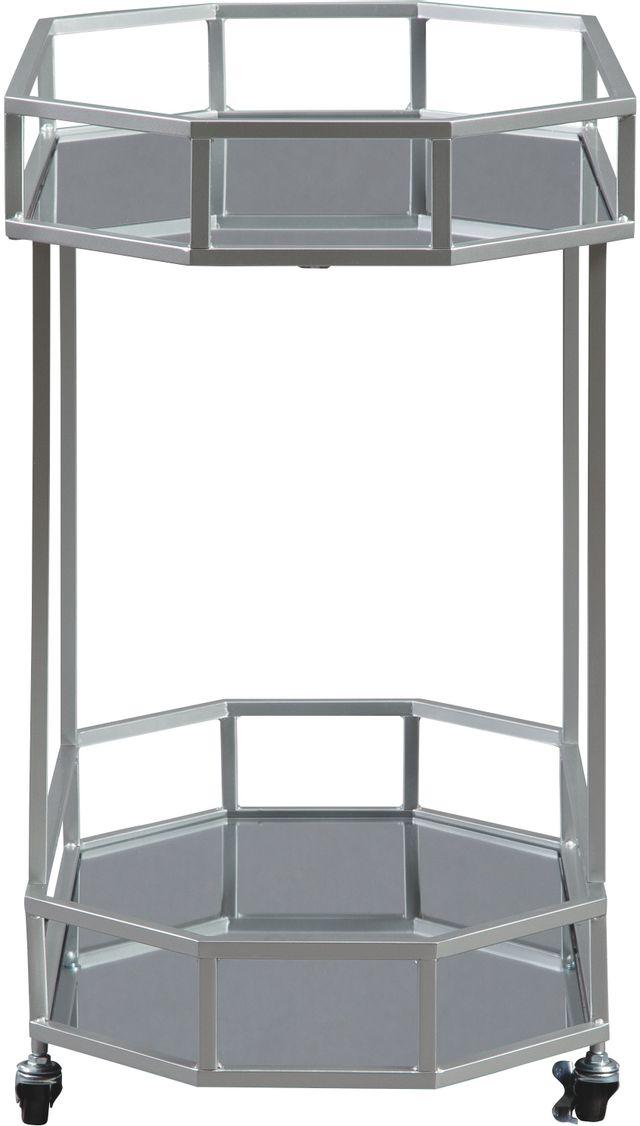 Signature Design by Ashley® Kadinburg Silver Bar Cart-A4000120