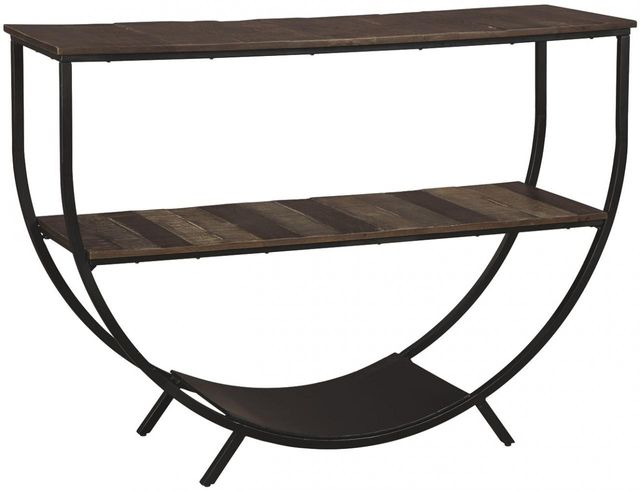 Signature Design by Ashley® Lamoney Gray/White/Brown Console Sofa Table-A4000234