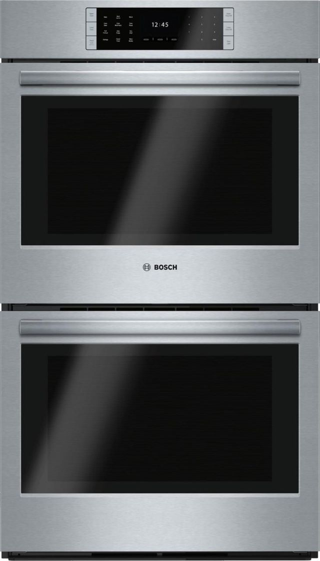 """Bosch Benchmark® Series 29.75"""" Stainless Steel Electric Double Oven Built In-HBLP651UC"""