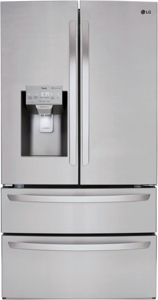 LG 27.8 Cu. Ft. Stainless Steel French Door Refrigerator-LMXS28626S