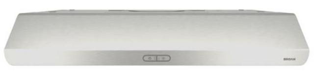 Hotte de cuisinière sous-armoire Broan® de 30 po - Acier inoxydable-BKDD130SS