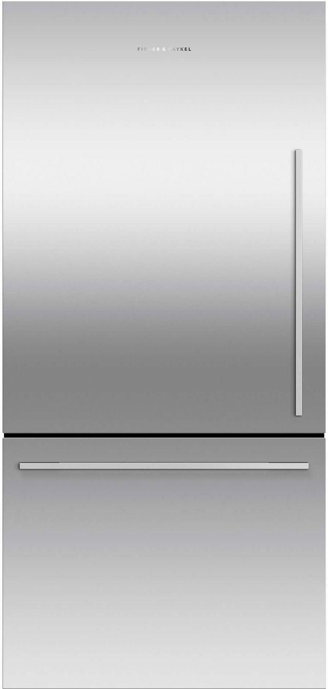 Fisher & Paykel Series 7 17.1 Cu. Ft. Stainless Steel Bottom Freezer Refrigerator-RF170WDLJX5