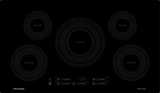 """Frigidaire® 37"""" Black Induction Cooktop-FFIC3626TB"""