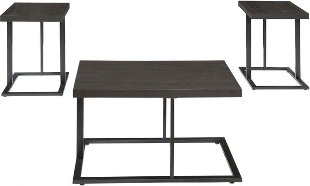 Signature Design by Ashley® Airdon Bronze Finish Occasional Table Set-T194-13