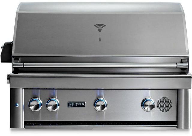 """Lynx® Professional 36"""" Stainless Steel Built In Smart Grill-SMART36-NG"""