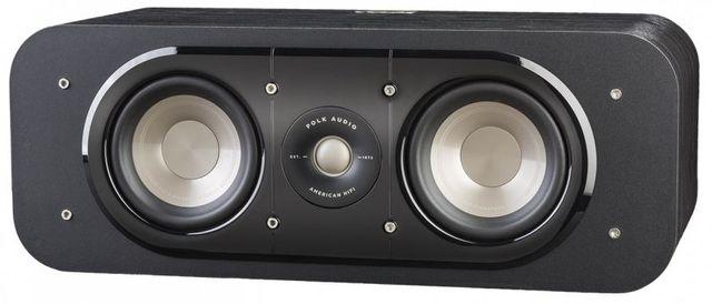 Polk Audio® Signature Series S30 Washed Black Walnut Home Theater Center Channel Speaker-AM9536