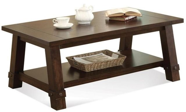 Riverside Furniture Windridge Angled Leg Coffee Table-76501