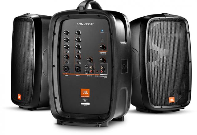 JBL® EON206P Portable PA System-JBL EON206P