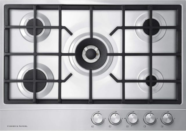 """Fisher & Paykel Series 7 30"""" Stainless Steel Gas Cooktop-CG305DLPX1 N"""