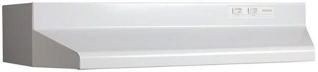 "Broan® 42000 Series 24"" White Under The Cabinet Range Hood-422401"
