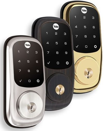 Crestron® Yale® Assure Lock™ Wireless Deadbolt-Oil Rubbed Bronze-CLK-YL-YRD226-CR2-OBP