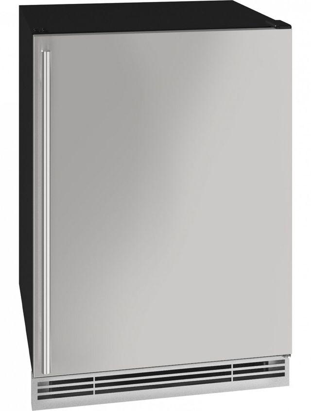 U-Line® 5.7 Cu. Ft. Stainless Steel Beverage Center-UHBV024-SS01A