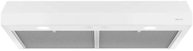 """Broan® Glacier BCSD1 Series 24"""" Under Cabinet Range Hood-White-BCSD124WW"""
