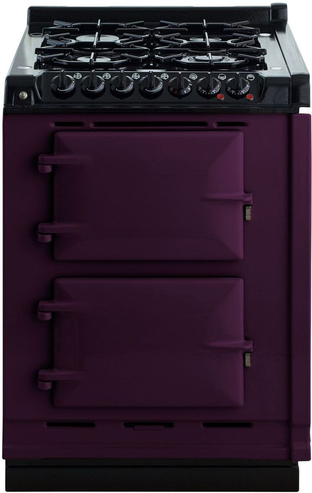 "AGA 24"" Aubergine Integrated Dual Fuel Range-TCDCLPM-AUB"