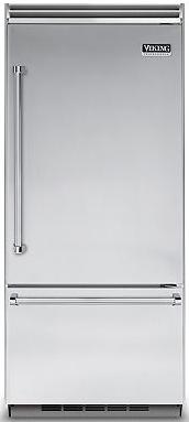 Viking® Professional 5 Series 20.4 Cu. Ft. Built-In Bottom Freezer Refrigerator-Stainless Steel-VCBB5363ELSS