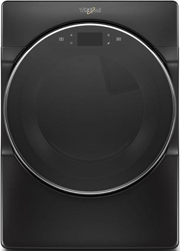 Whirlpool® 7.4 Cu. Ft. Black Shadow Front Load Electric Dryer-WED9620HBK