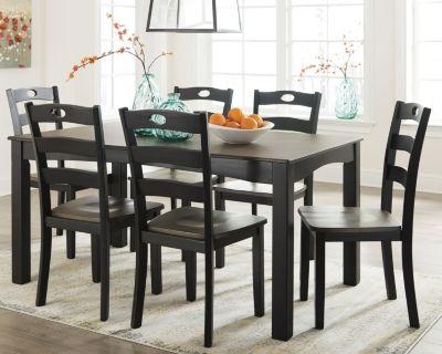Signature Design by Ashley® Froshburg 7-Piece Dining Set-D338-425
