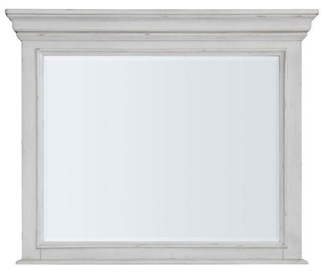 Benchcraft® Kanwyn Whitewash Bedroom Mirror-B777-36
