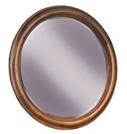 Durham Furniture Vineyard Creek Aged Wheat Round Mirror-112-180