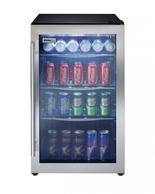 Danby® Designer 4.3 Cu. Ft. Stainless Steel Beverage Center-DBC434A1BSSDD