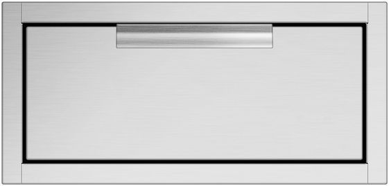 """DCS 20.31"""" Brushed Stainless Steel Tower Drawer Single-TDS1-20"""