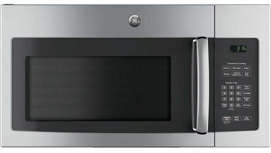 GE® Over The Range Microwave-Stainless Steel-JVM3162RJSS