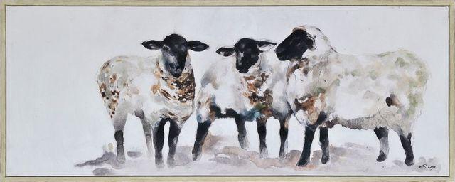 Art mural Moutons Renwil®-OL1982
