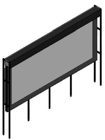 Stewart Filmscreen Daily Dual Screen System-Daily Dual
