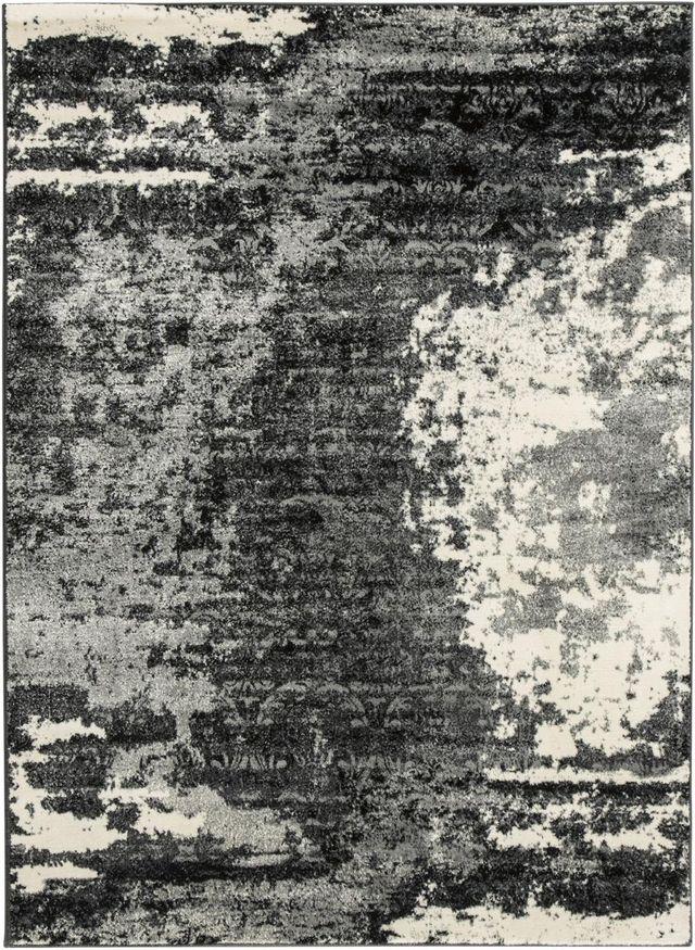 Signature Design by Ashley® Roskos Black/Gray Large Rug-R402701