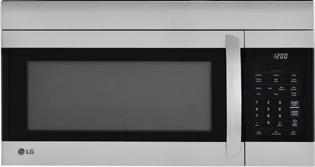 LG 1.7 Cu. Ft. Stainless Steel Over The Range Microwave-LMV1764ST