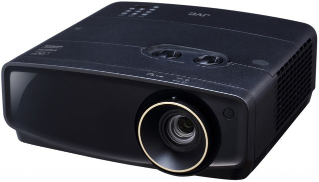 JVC Procision LX-UH1B Black DLP Projector-LX-UH1B