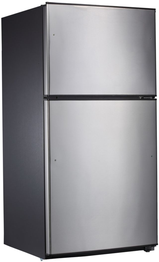 Midea® 21 Cu. Ft. Stainless Steel Top Mount Refrigerator-WHD-774FSSE1